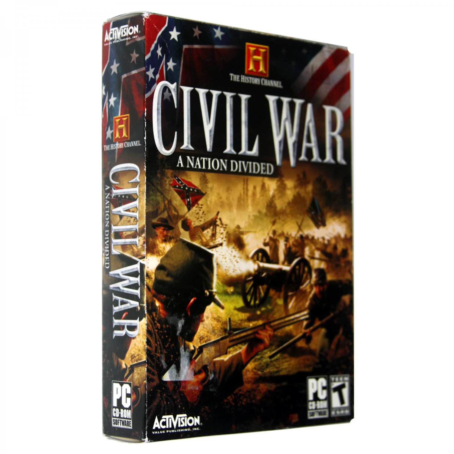 The History Channel: Civil War - A Nation Divided [PC Game]