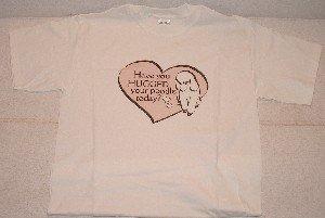 Poodle Hugs - T-shirt - cute design