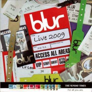 Blur - Live 2009 Access All Areas Summer Reunion Tour (BBC/Sunday Times+ Glastonbury promo parklife)