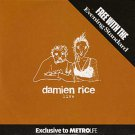 Damien Rice - Live (promo CD album)
