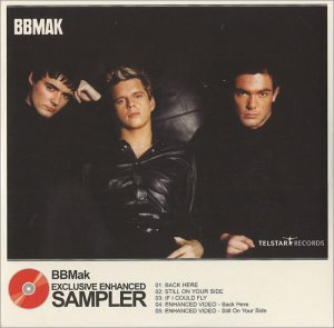 BBMak - Exclusive Enhanced Sampler (CD to promote the album Into Your Head)