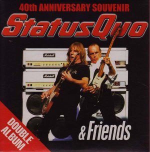 Status Quo & Friends Vol1:40th Anniversary Souvenir(Volume One promo inc Rockin�All Over The World