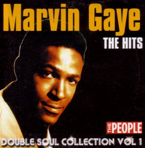 Marvin Gaye Motown Hits(soul promo inc Let's Get It On;What's Going On;I Heard Through the Grapevine