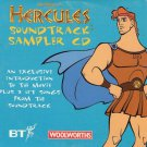 Walt Disney Pictures Presents HERCULES SOUNDTRACK SAMPLER CD Collector's Edition (Woolworths promo)