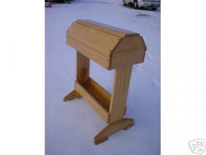 NEW RUSTIC  OAK Saddle Rack  Stand with Tray