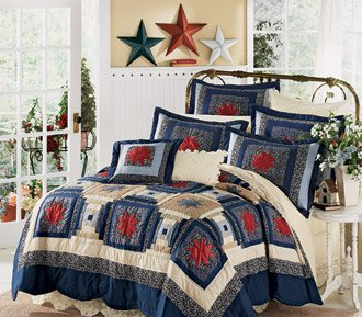 Starlight Starbright Handmade Quilt with FREE* Shams King or Queen