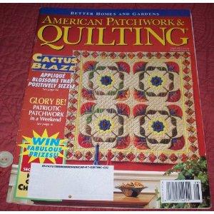 American Patchwork & Quilting Magazine August 1996