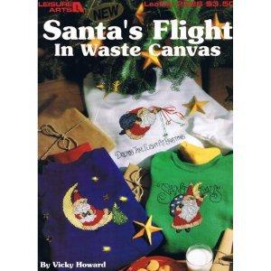 Santa's Flight in Waste Canvas, Leaflet 2528