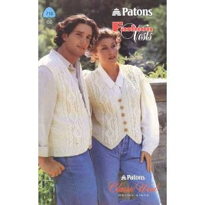 PATONS FASHION VESTS Patons Claasic Wool Merino Blend #712 CC