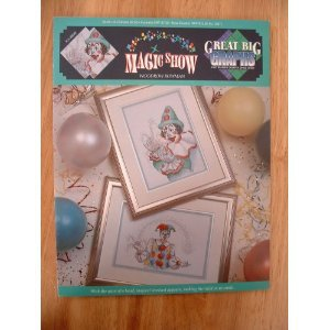Magic Show Cross Stitch Pattern Designed by Woodrow Bowman for Great Big Graphs