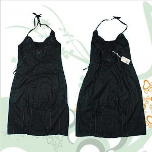 Sale! Marithe+Francois Girbaud Cotton Dress black