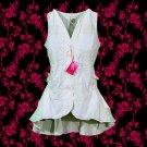 Sale! Marithe+Francois Girbaud Summer Cotton Top Beige