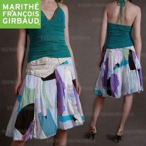 Sale! Marithe+Francois Girbaud summer linen skirt
