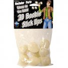 Bachelor Party Glow in the Dark 3D Boobie Stick Ups 8 Pc.