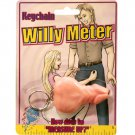 Pecker Keychain Willy Meter