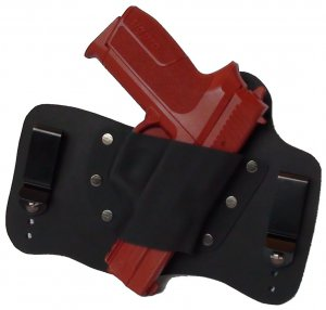FoxX Leather & Kydex IWB Holster Sig Sauer P2022 Hybrid Holster RH Black