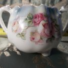 German Antique vintage porcelain sugar bowl