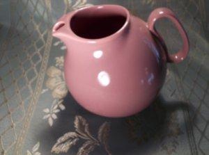 Waechtersbach Spain vintage pottery pink pitcher