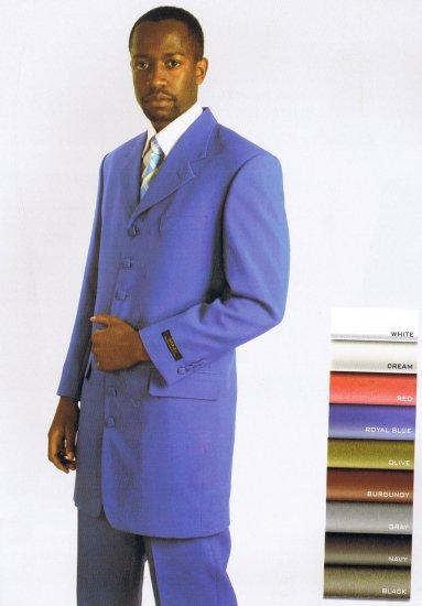 SINGLE BREASTED 7 BUTTON SUIT
