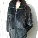 Womans SOFT Sheared Fur Coat Size Medium/ Large