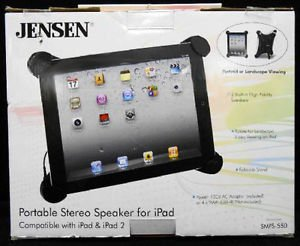 Jensen Portable Speakers for iPad New in Box Model SMPS-550