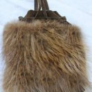 Small Beaver Fur Purse made in Canada