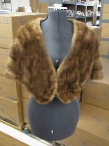 Beautiful Supple Vintage Light Brown Becker & Burns Fur Stole