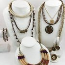 Fashion Jewelry Lot: Cookie Lee Set, Avon, More