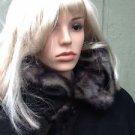 Dennis Basso Gorgeous Faux Fur Lined Black Coat SOFT Size Large