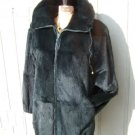 REDUCED Womans SOFT Sheared Fur Coat Size Medium/ Large