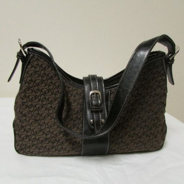 NWOT Beautiful Brown and Black Small Size Shoulder Bag