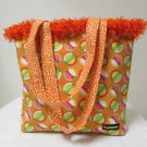 NWOT Large Custom Bag Daddy Orange Retro Shoulder Bag Shoppers Tote