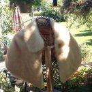 BEAUTIFUL Bridal Wedding or Formal Faux Fur Tan Stole