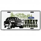 FORD -  GREAT OUT DOORS  /  AUTOMOTIVE LICENSE PLATE