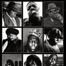 NOTORIOUS B.I.G / COLLAGE 24 X 36 PHOTO POSTER
