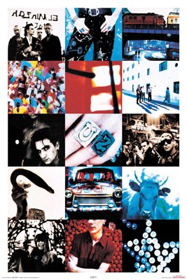 NEW U2 - ACHTUNG  24 x 36  MUSIC POSTER