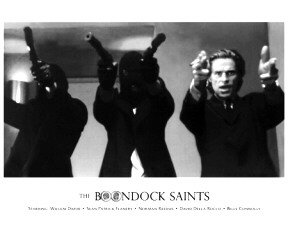 BOONDOCK  SAINTS - SHOOTING  8 X 10 - GLOSSY PHOTO PRINT