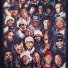 NEW RAP LEGENDS - HIP HOP  24 X 36 MUSIC  POSTER