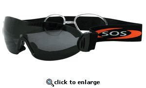 NEW SOS - BANDIT MOTORCYCLE SUNGLASSES - GOGGLES