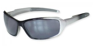 NEW SOS X WRAPS - BLAZE 2 - SUNGLASSES - SILVER