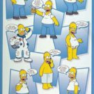 NEW THE SIMPSONS HOMER COLLAGE   - 24 X 36  POSTER