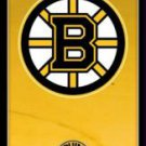 New Boston Bruins logo- 22 1/4'' X 34'' Nhl Poster