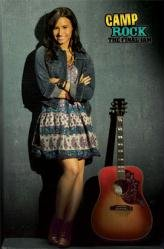 """Camp Rock 2: The Final Jam ( Demi Lovato as Mitchie ) 22 1/4"""" X 34"""" Movie Poster"""