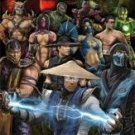 New  Mortal Kombat - Video Game Characters  22 1/4 '' X 34 ''  Poster