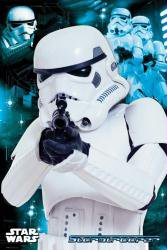 New Star Wars Stormtrooper Collage Style 24'' X 36'' Movie Poster