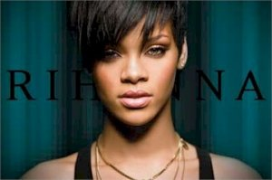 "Rihanna - Closeup Necklace  24'' x 36""  Music Poster"