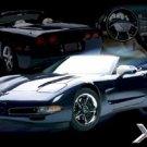 "Corvette - Xtreme Machines  24'' x 36""  Car Poster"