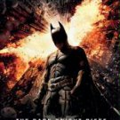 Batman The Dark Knight Rises - Fire Logo 22 x 34 Movie Poster