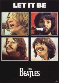 The Beatles - Let it Be  22'' x 34'' Music Poster