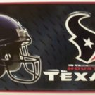 Houston Texans NFL Embossed Metal Novelty License Plate Tag Sign